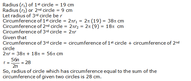 Chapter 12 Areas Related to Circles - NCERT Solutions for