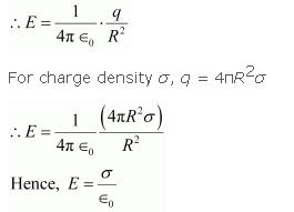 a using gauss law derive an expression for the electric