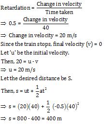 train question answer