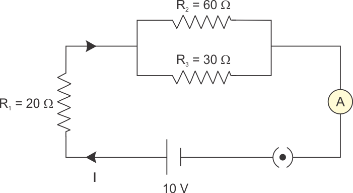 For The Circuit Shown In The Diagram Calculate A The Total