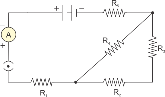 consider the following circuit diagram if r1 r2 r3 r4 r5 3 ce a9 rh topperlearning com