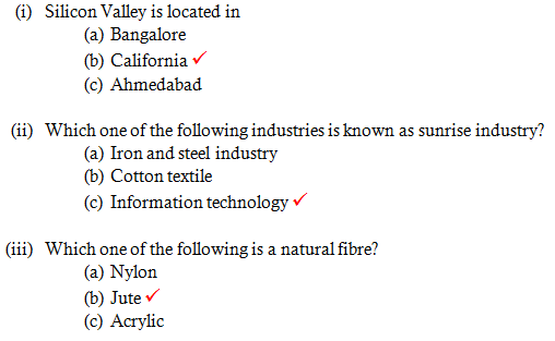Chapter 5 Industries - NCERT Solutions for Class 8 Geography