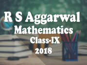 R. S. Aggarwal and V. Aggarwal - Mathematics - IX