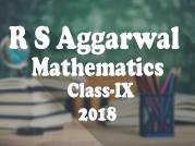 R. S. Aggarwal and V. Aggarwal - Mathematics - IX