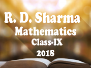 R. D. Sharma Mathematics IX