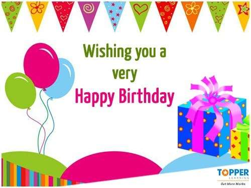 Free Birthday E-Greeting Cards -674
