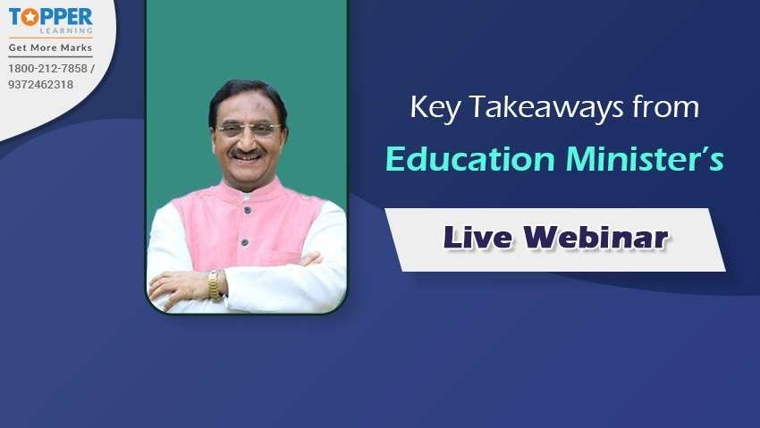 Key Takeaways from Education Minister's Live Webinar