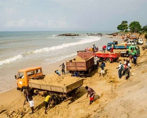 Sand Mining: A Serious Environmental Issue