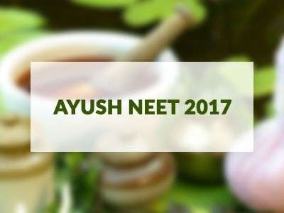 NEET mandatory for AYUSH streams effective immediately