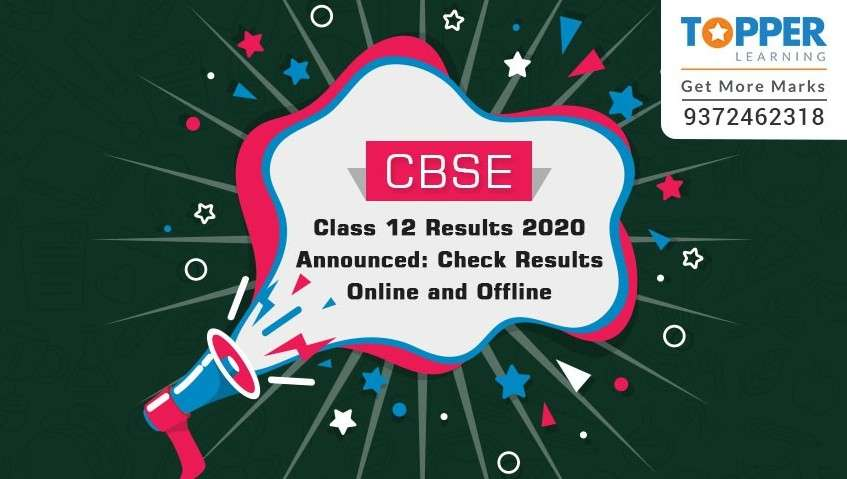 CBSE Class 12 Results 2020 Announced: Check results online and offline