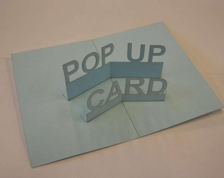 How to make pop up cards?