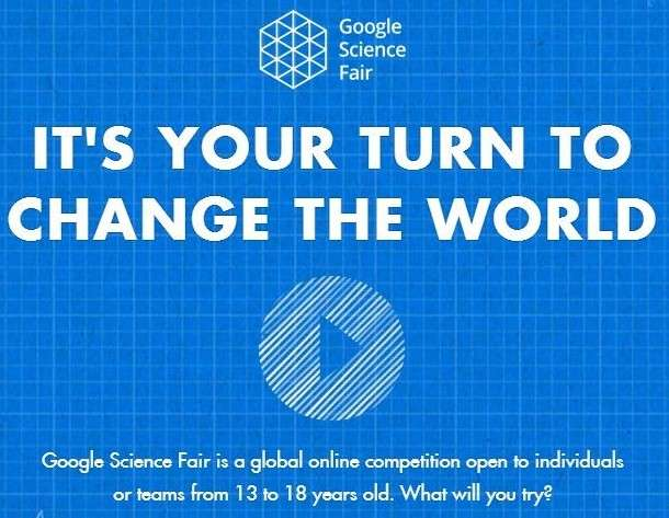 Google Science Fair Open to Children