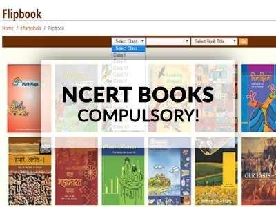 CBSE Orders all Affiliated Schools to use Only NCERT Books