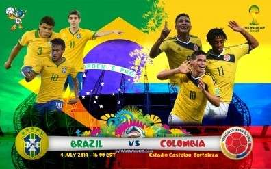 FIFA World Cup 2014: Why Colombia Starts as a Favourite Against Brazil