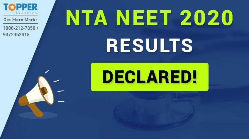 NTA NEET 2020 Result Declared!