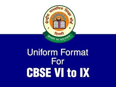 CBSE Announces New Exam Format for VI to IX