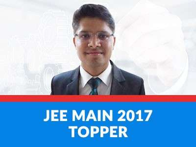 JEE Main 2017 Topper shows how it's done!