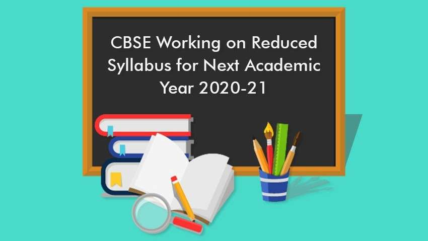 CBSE Working On Reduced Syllabus for Next Academic Year 2020-21
