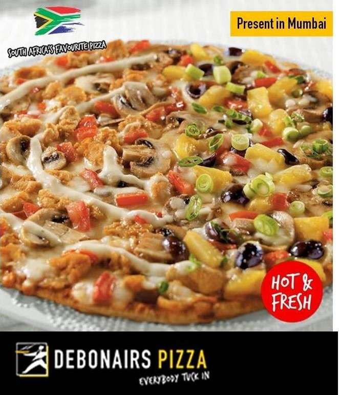 Advertorial: Earn More Points and Get 25% off on Debonairs Pizzas