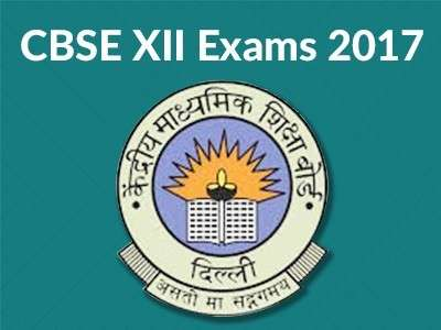 CBSE Class 12 Board Exam Timetable 2017