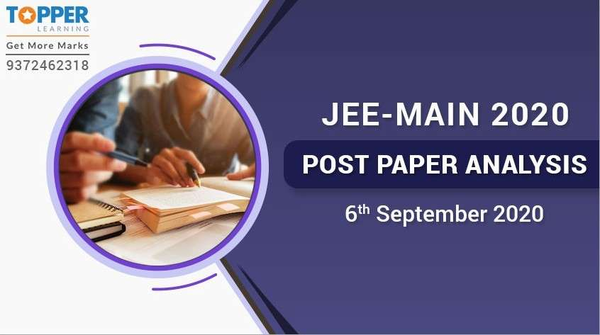 JEE Main 2020 Post Paper Analysis - 6th September, All Shifts