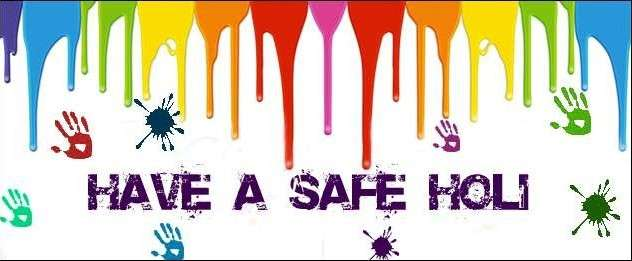 Be Safe this Holi