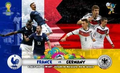 France Vs Germany World Cup 2014 Preview: Will the German Blitzkrieg Come to an End?