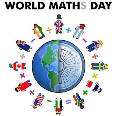 13-15 October: World Maths Day Event