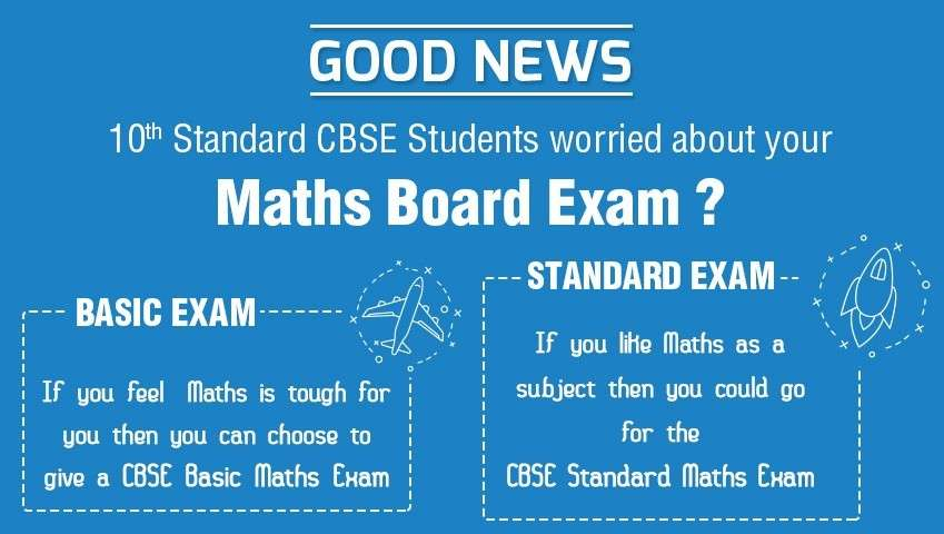 CBSE Board to Introduce Two Levels of Maths Exam for Class 10