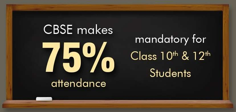 CBSE makes 75% attendance mandatory for Class 10 and 12 students