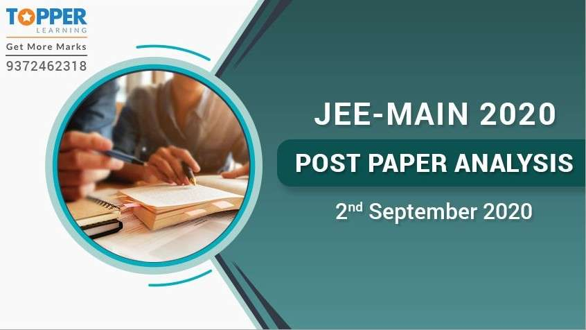 JEE Main 2020 Post Paper Analysis - 2nd September, All Shifts