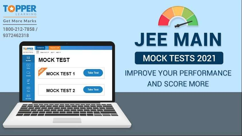 Improve your performance with JEE Main Mock Tests 2021
