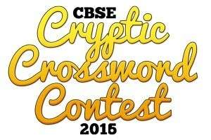 Are you game for CBSE's Cryptic Crossword Contest?