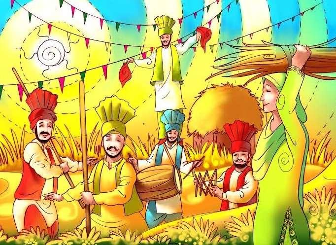 Flamboyant Harvest Festivals of India
