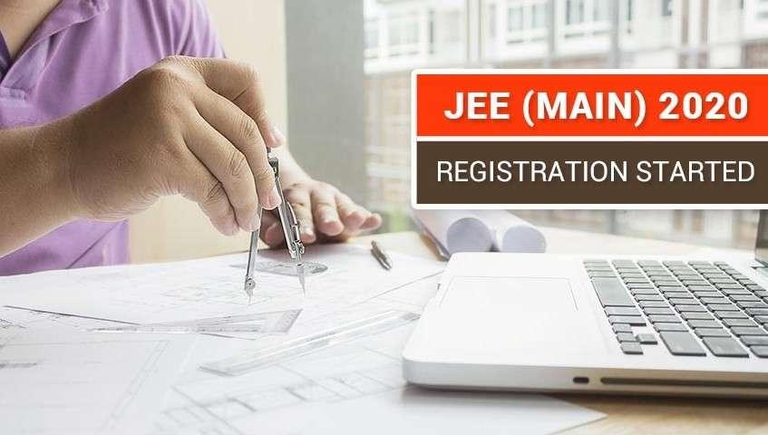 JEE Main 2020: Registration Started