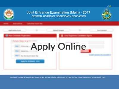 JEE Main Application 2017: Things you need to know