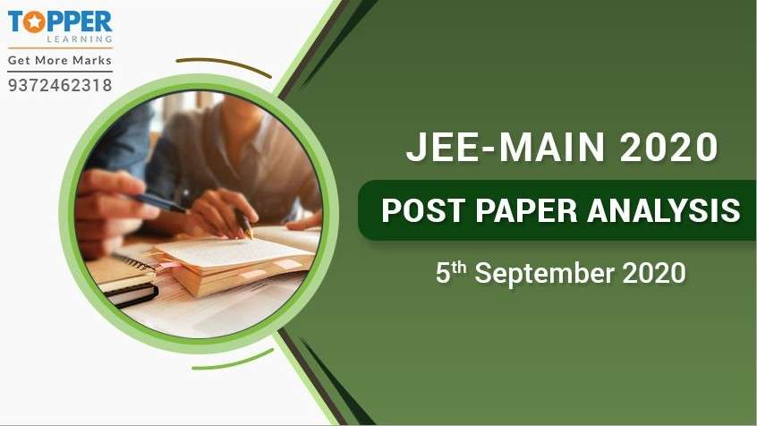 JEE Main 2020 Post Paper Analysis - 5th September, All Shifts