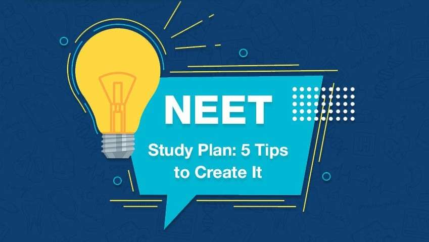 NEET study plan- 5 Tips for creating it!