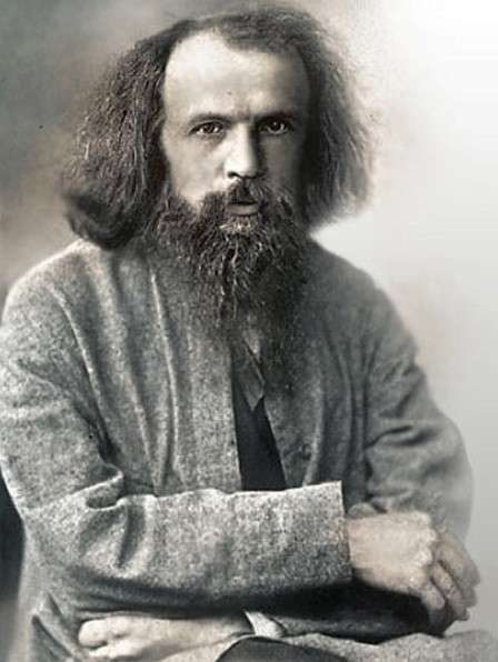 Dmitri Mendeleev, the science wizard of Russia!