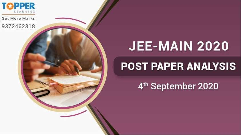 JEE Main 2020 Post Paper Analysis - 4th September, All Shifts