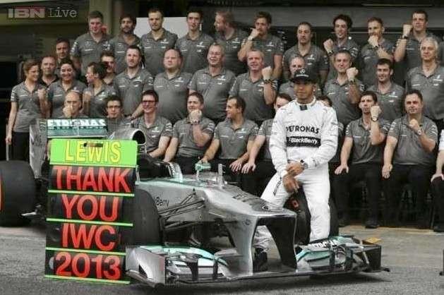 Lewis Hamilton crashes as Formula One starts new turbo era