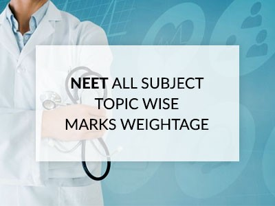 NEET Important Topics & Subject Wise Marks Weightage for Physics, Chemistry & Biology Syllabus