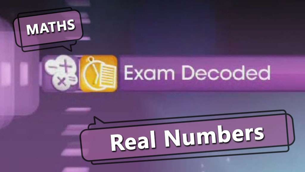 Real Numbers -