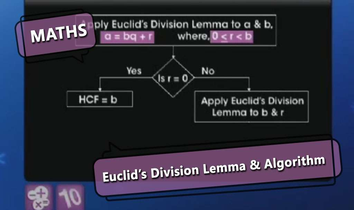 euclid u0026 39 s division lemma and algorithm   euclid u0026 39 s division