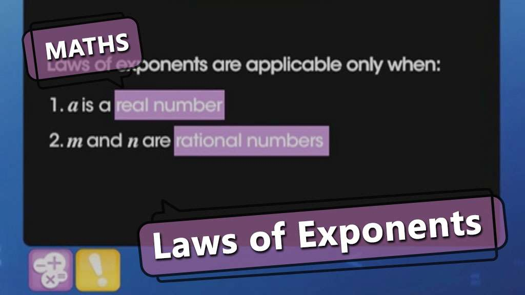 Simplification of Expressions Using Exponents