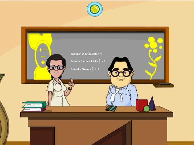 Division of Fractions -