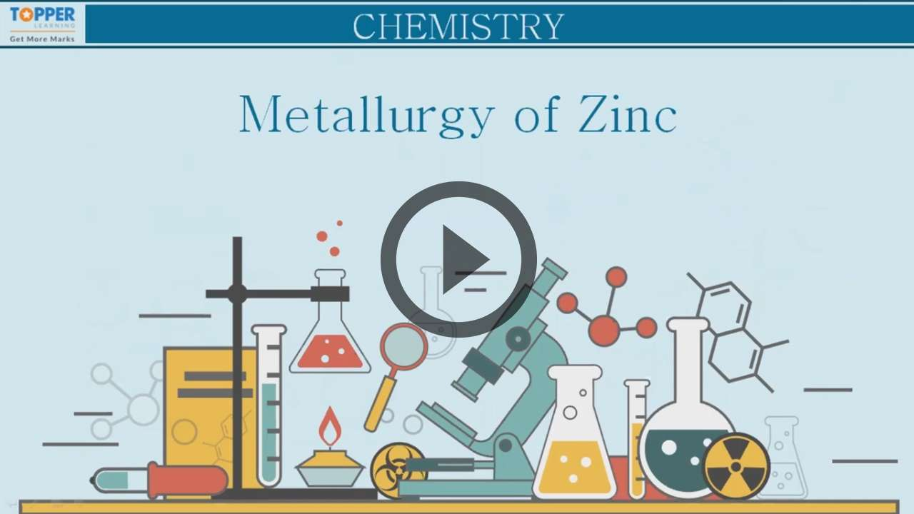 Metallurgy of Zinc - Chemistry - Notes, Questions & Answers for ICSE