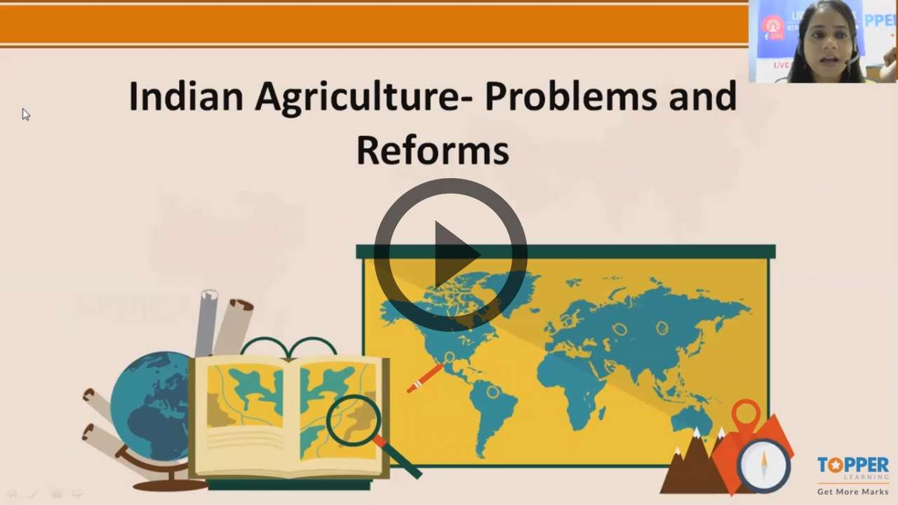 Agriculture in India I-Food Crops - Agriculture in India I-Food Crops