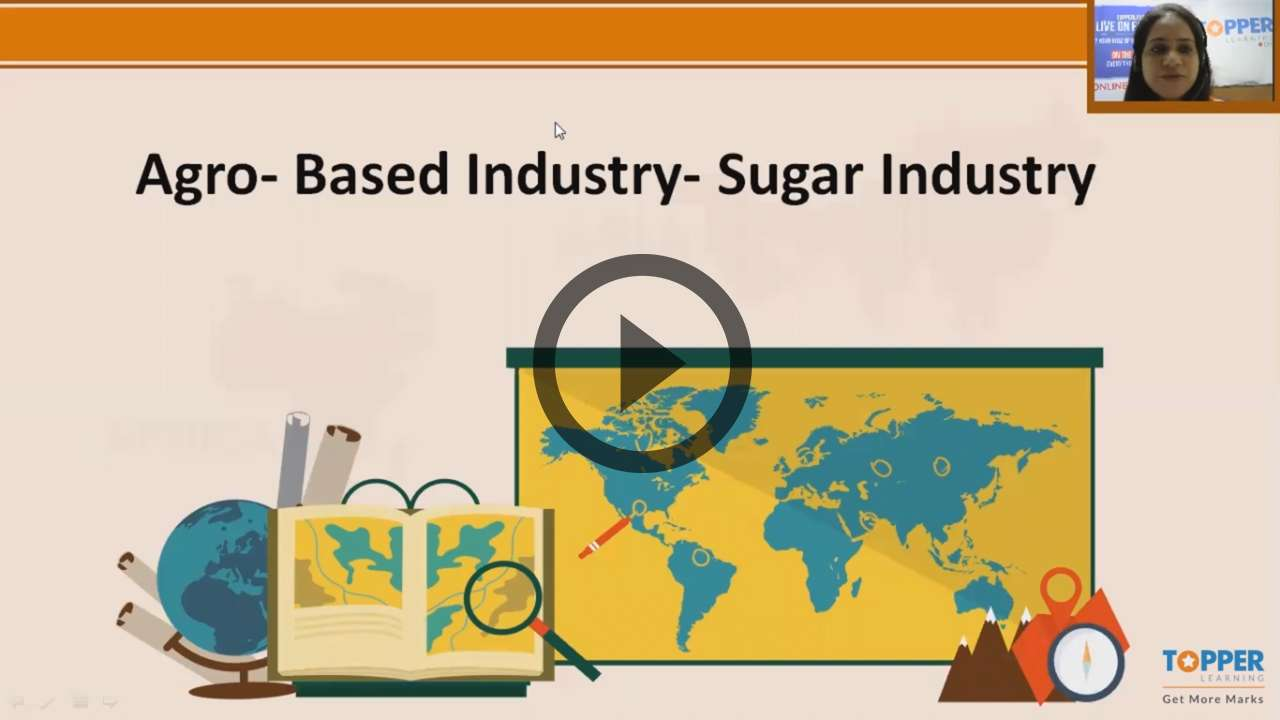 Manufacturing Industries in India-Agro Based - Manufacturing Industries in India-Agro Based