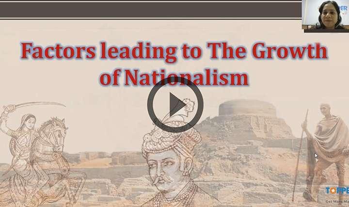 Growth of Nationalism - Growth of Nationalism